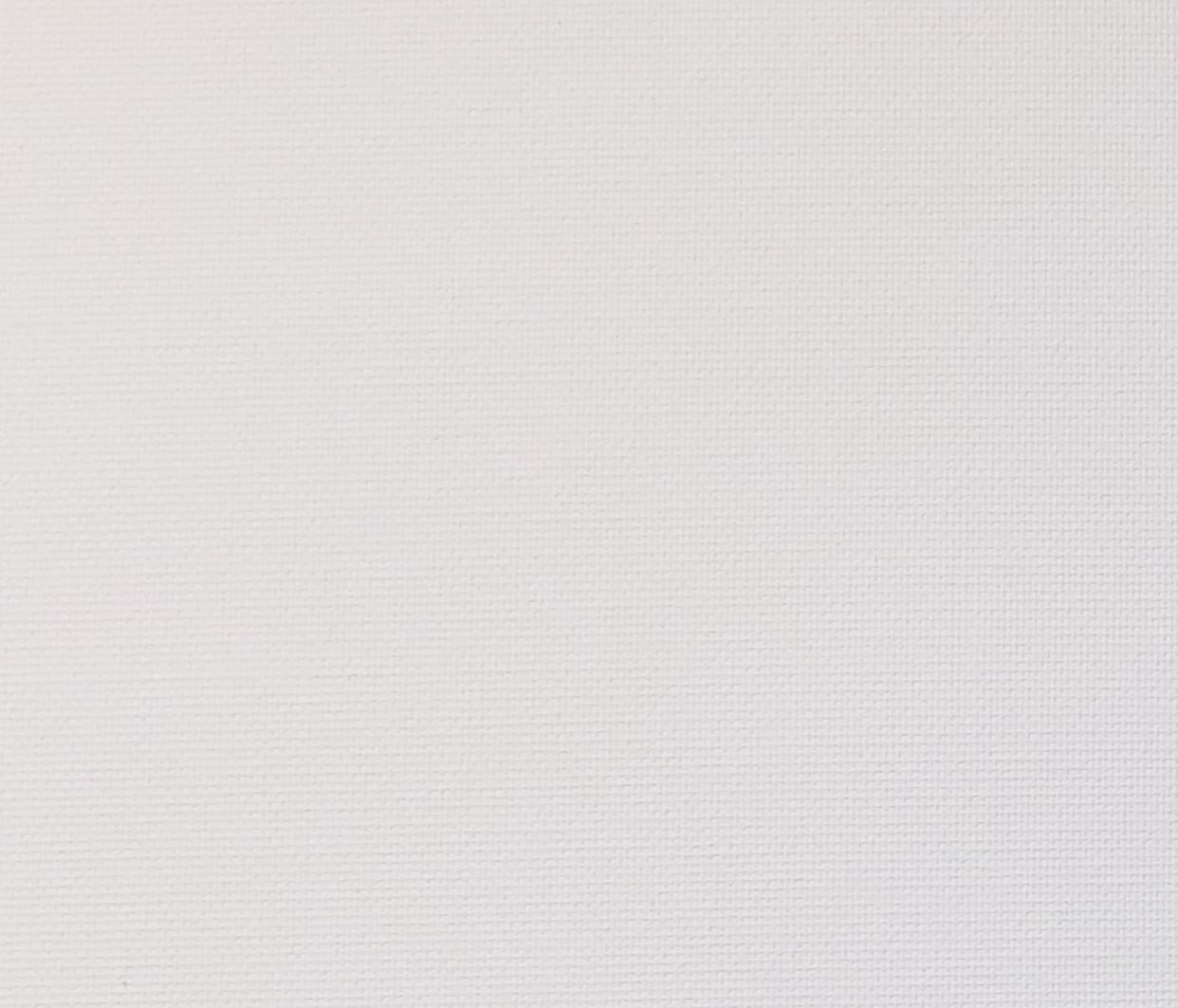 Eden White Blackout Blind Fabric
