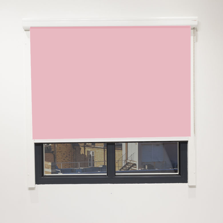 Eden Dusty Pink Cassette Blind With Chain