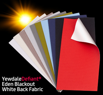 Eden Blackout Fabric Samples Commercial Blinds