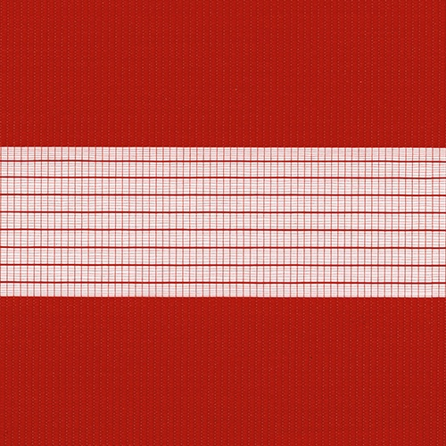 Capri Scarlet Red Blind Fabric