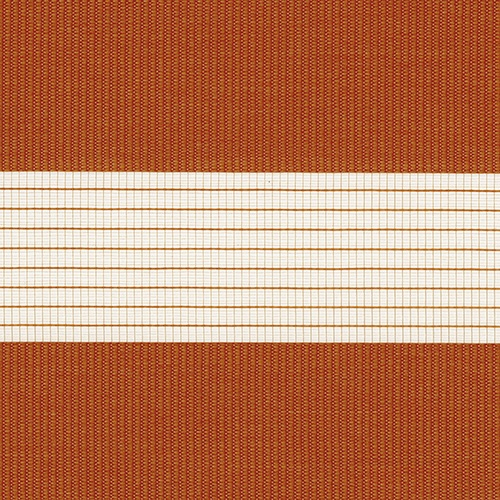 Capri Sunset Orange Blind Fabric
