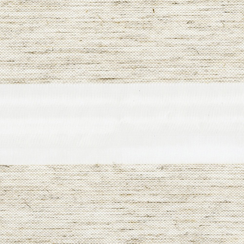 Lucca White Vision Blind Fabric