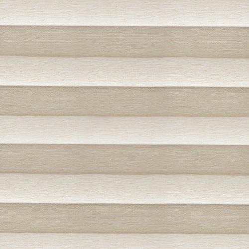 Topaz Ivory Pleated blind fabric