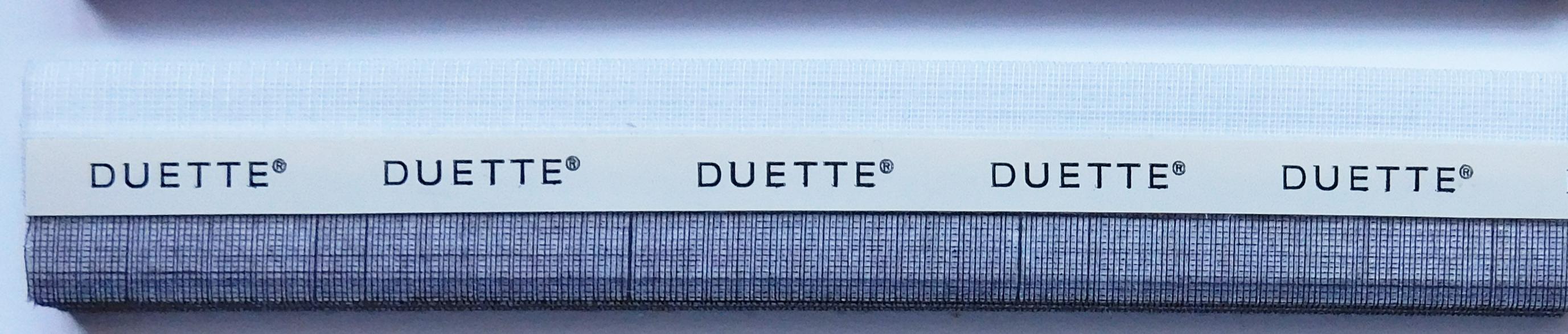 Batiste Chocolat Duette Blind Sample Fabric