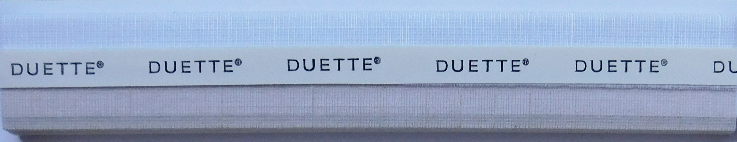 Batiste Oyster Duette Blind Sample Fabric