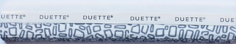 Stones Raven Duette Blind Fabric